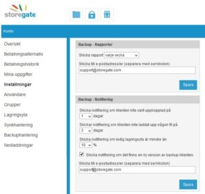 backuprapporter notifieringar3