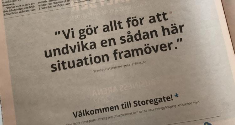 """""""Vi Gör Allt För Att Undvika En Sådan Här Situation Framöver."""""""