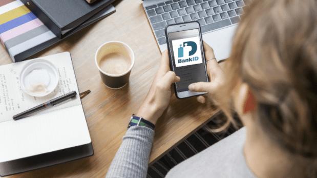 Dela filer med BankID