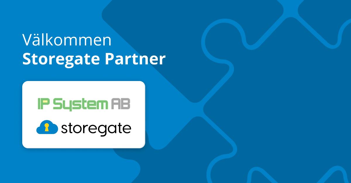 Välkommen Storegate Partner - IP System AB