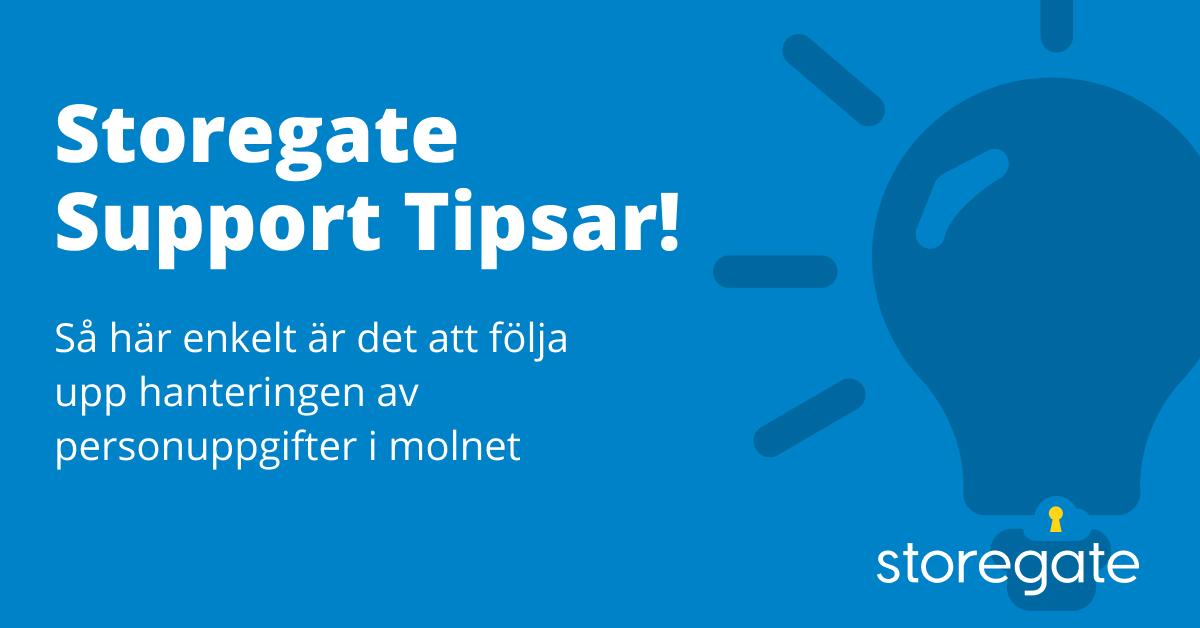 Sotoregate Support Tipsar! Händelselogg